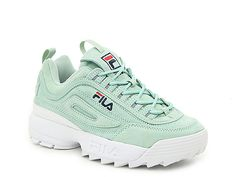 Women S Shoes Width Guide Product Retro Sneakers, Green Sneakers, Shoes Sneakers, Mint Green Shoes, Sneakers Fashion, Fashion Shoes, Fila Disruptors, Aesthetic Shoes, Womens Training Shoes