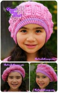 Eternal Love Slouch - Adult Size with Button Up Brim | Free Crochet Pattern | Crochet Slouch Hat Pattern