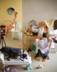 Barbie en mode trash: la photographe Mariel Clayton nous fait sourire - Rue89 - L'Obs