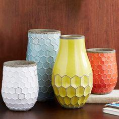 Hive Vases   west elm