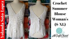 Crochet Summer Top Using Granny Squares