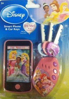 Disney Princess Smart Phone & Car Keys by Creative Designs International, Ltd.. $16.95. .