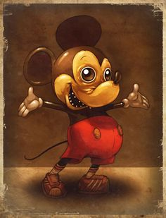 Unusual Mickey Mouse Artworks