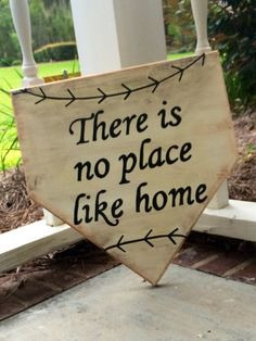 There's No Place Like Home Plate by WhereTheHeartIsShop on Etsy