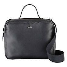 Buy Tula Nappa Originals Medium Zip Top Shoulder Bag, Black Online at johnlewis.com