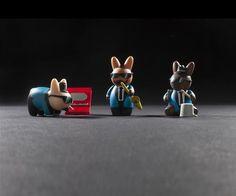 "Labbit Band Camp Blind Box 2.5"" Mini Series - Kidrobot - 15"