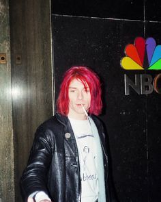 Kurt Cobain in New York, NY, US. January 11th, 1992
