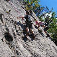 Klettern lernen im Kaisergebirge