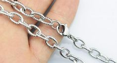 20pcs 30inch 6.3mm 316L stainless steel necklace by aliyafang, $119.00