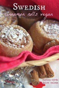 Swedish cinnamon rolls vegan