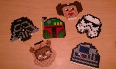 Star Wars Ornaments perler beads by InfernoCreations