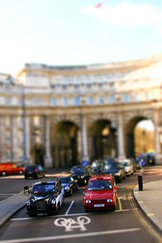 london tilt-shift