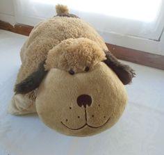 Pillow Pet Brown Tan Dog Puppy Plush Large #PillowPets