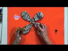 Silvina Buquete - Mariposas en cestería - YouTube