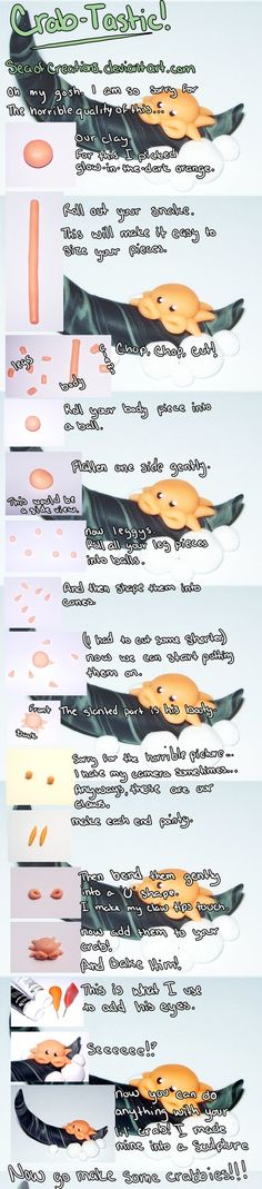 CrabTastic Tutorial by ~SeaOfCreations on deviantART