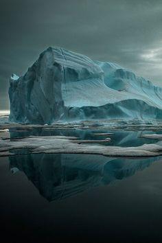 plasmatics-life:  Qaanaaq Iceberg by Sebastian Copeland | (Website)