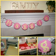 Barbie Sihouette Printable Happy Birthday Banner Barbie DIY Party