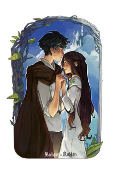 Richard and Kahlan fromThe Sword of Truth