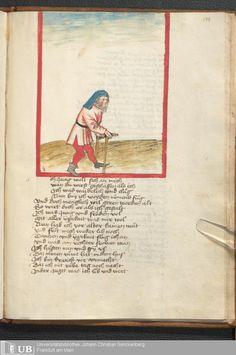 467 [229r] - Ms. germ. qu. 6 - Der Renner - Page - Mittelalterliche Handschriften - Digitale Sammlungen Schwaben, [1446; um 1450]
