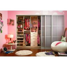 i don't need a walk in closet... this would be perfect, obviously different colors though:p