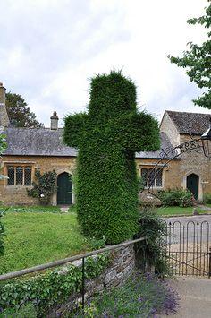 Adlestrop church gate -280