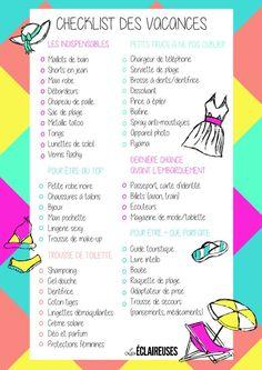 10 astuces pour organiser votre valise - Les Éclaireuses