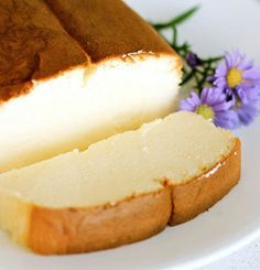 Recipe for Japanese Cheesecake - You'll love it if you are a fan of lighter, springy cakes. I also love this version because it calls for less eggs than most recipes for Japanese cheesecakes!