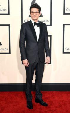 Pin for Later: Seht alle Stars bei den Grammys! John Mayer