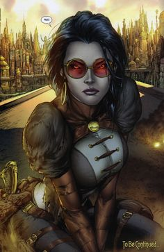 Lady Mechanika The Tablet of Destinies # 1 - Art by Joe Benitez, Martin Montiel, & Mike Garcia