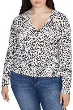Sanctuary Curve Leopard-Print Sweater Women - Plus - Bloomingdale's Curvy Plus Size, Couture Fashion, Women's Accessories, Sweaters For Women, Classy, Shopping, Tops, Bracelets, High Class Fashion