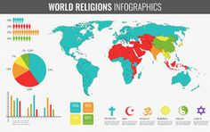 Carte De Religions Du Monde - Télécharger parmi plus de 49 Millions des photos, d'images, des vecteurs et . Inscrivez-vous GRATUITEMENT aujourd'hui. Image: 45065195 Religions Du Monde, World Religions, Judaism, Christianity, Illustration, Vector Free, America, Map, Teaching