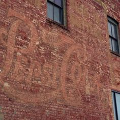 Pepsi Cola ghost sign in Birmingham