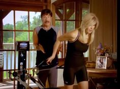 Chuck and Gena Total Gym Workouts
