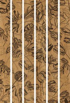 Xilo1934_DESIGNER Ronald Van Der Hilst_ Parquet decorato su rovere Slavonja.