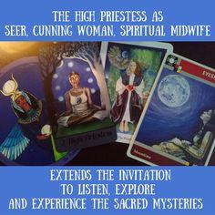 Daughters of the Moon Tarot, Wayfarer Tarot, Gaian Tarot, Sweatlodge Cards.