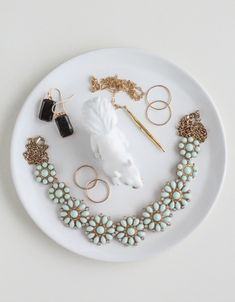 LuLu*s Fresh Spaces: DIY Figurine Trinket Dishes at LuLus.com!