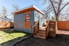 This modern and minimalist Kanga Tiny House is in Austin, Texas. And since you can book it to rent on Airbnb, I've added it to our tiny house vacations category. This little prefab cabin is about 2...