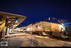 RailPictures.Net Photo: AMTK 53 Amtrak GE P42DC at Poplar Bluff, Missouri by Zach Pumphery