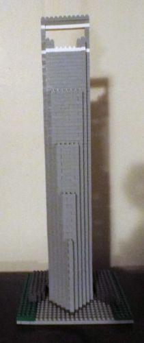 Loz-Architecture-Series-Shanghai-SWFC-1170-Pieces-No-Box-US-Seller
