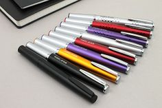 Pilot Ageless Future Ballpoint Pen - 1.0 mm - Matte Black Body  (Other colors also shown!)