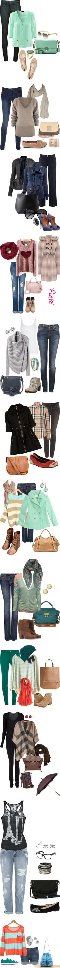 """Everyday Jeans"" by cris-an on Polyvore"