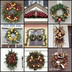 Colonial Williamsburg, Virginia Christmas wreaths