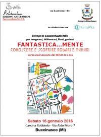 Rodari e Munari... Un corso dedicato a loro a Buccinasco, in provincia di Milano!