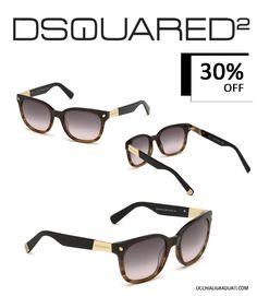 """DSquared2 Occhiali da sole unisex -30% su OcchialiGraduati.com """"Spedizione Gratuita""""  #sunglasses #dsquared2 #shopping #style #ss2014 #summer #fashion #glassesonline"""