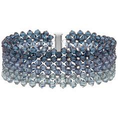 Faded Denim Bracelet Tutorial | Fusion Beads Inspiration Gallery