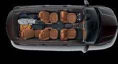 2016 Traverse mid size suv cargo 1