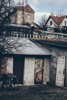 Door in VIlnius, Lithuania