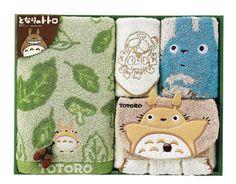 My Neighbor Totoro - Towel Set featured on Jzool.com