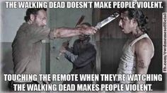The Walking Dead funny meme: