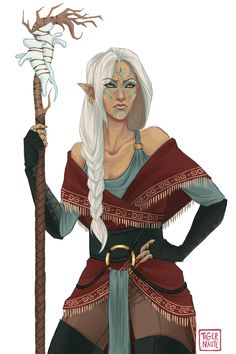 I think she should be the leader of the Asterismos clan/tribe? Watcha think?